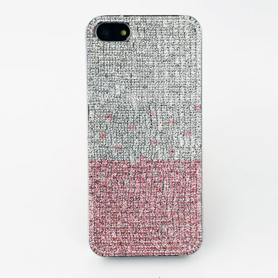 1d1b23c713 iPhone5/5sケース ラインストーン/ピンク ホワイト 】iPhoneケース通販 ...